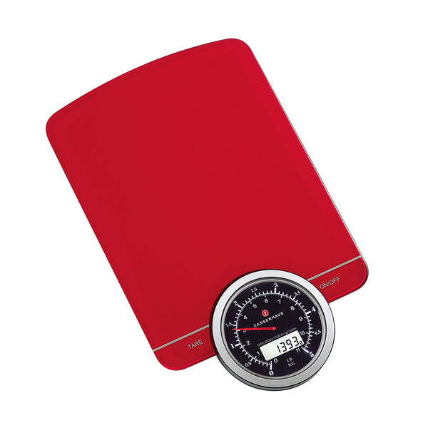 "Zassenhaus ""Speed"" Digital Scale Red"