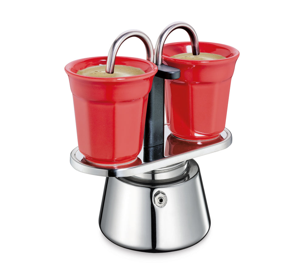 Cilio CAFFETTIERA Coffee Maker Set, 2 Cups