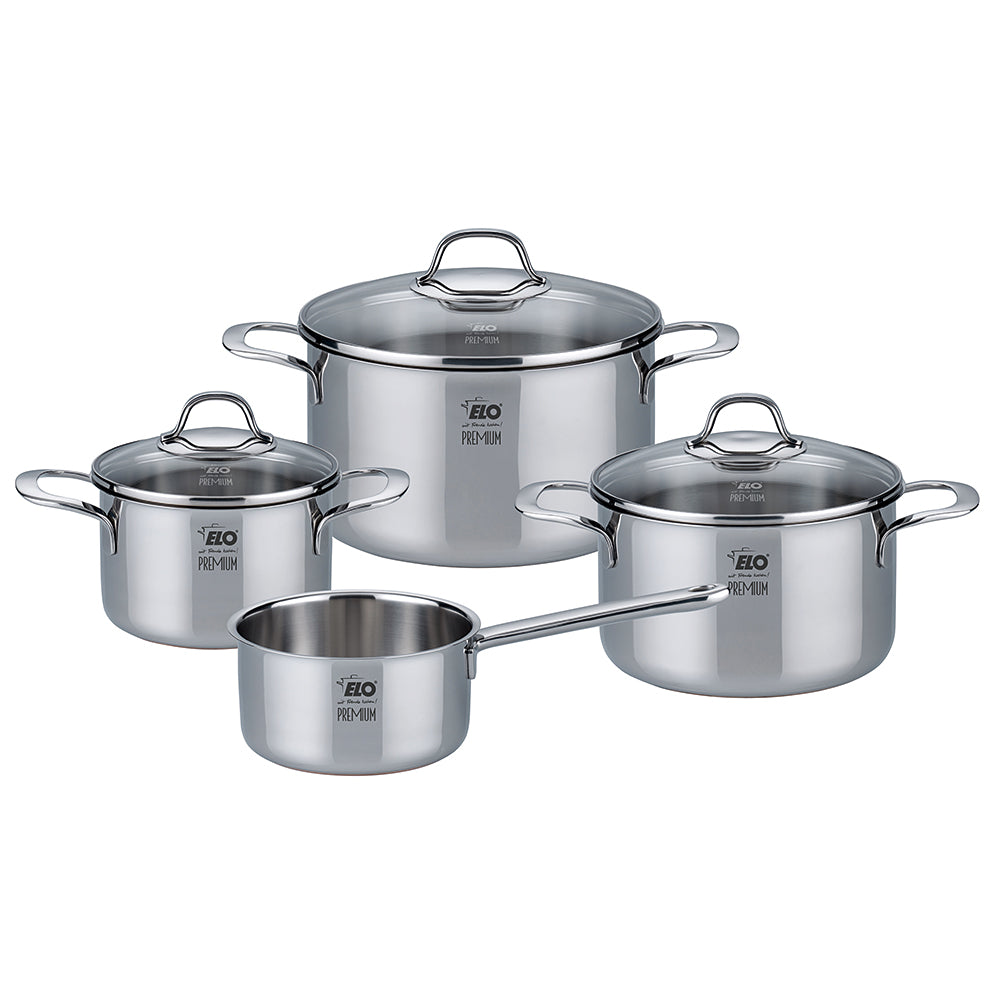 "Elo """"Silicano+"""" Pot Set 4pcs 16cm"