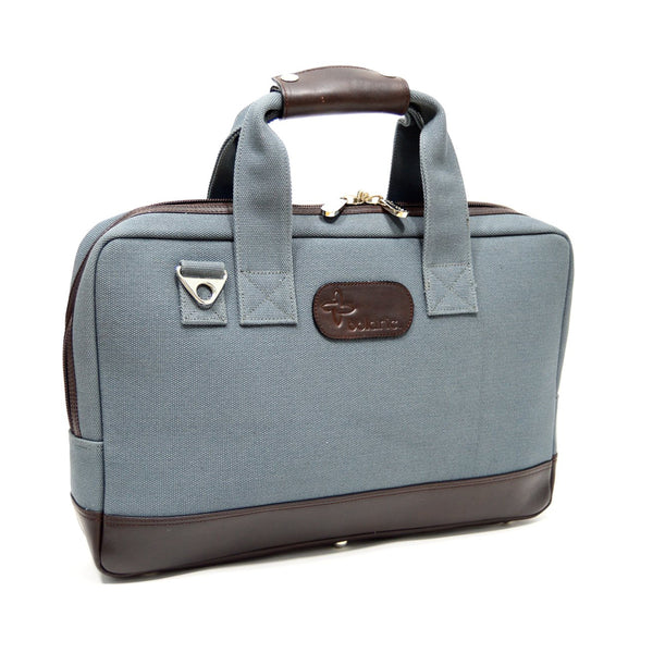 Boldric Canvas Cocktail Bag, Abalone