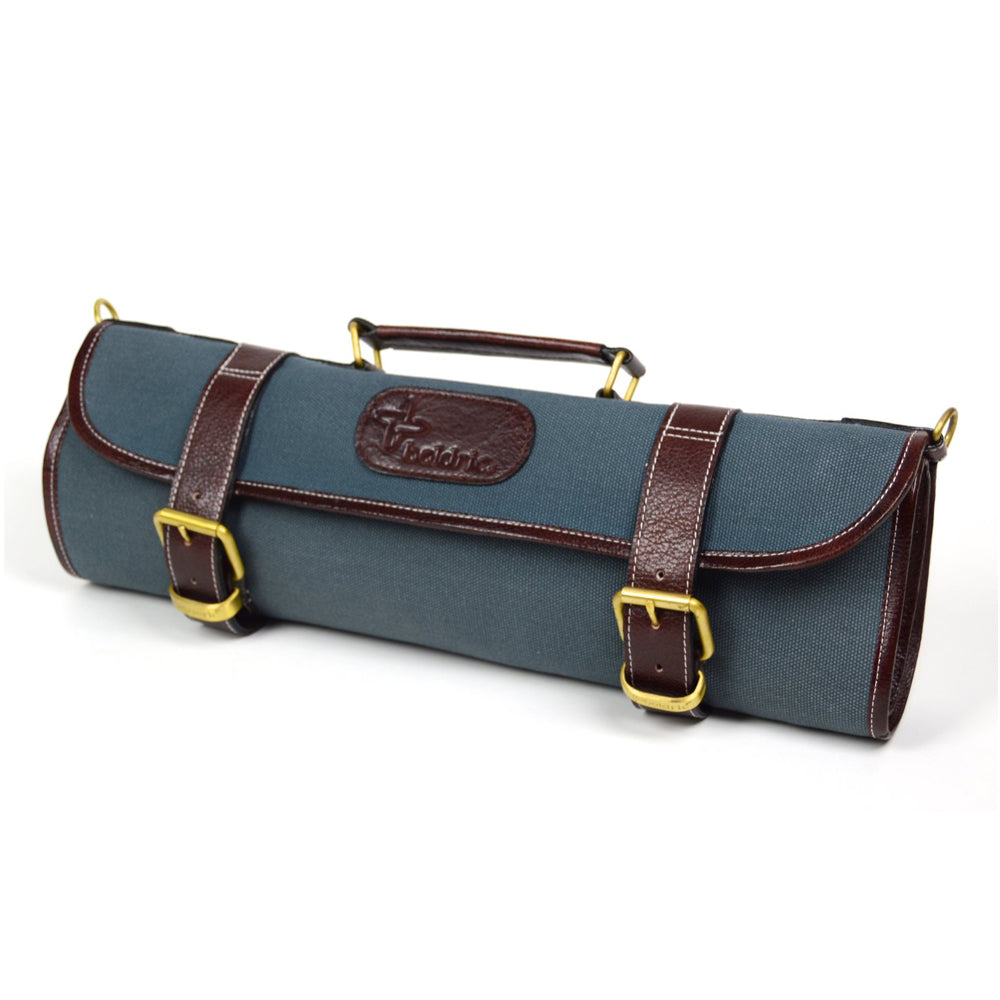 Boldric Canvas 9 Slot Roll Knife Bag, Abalone