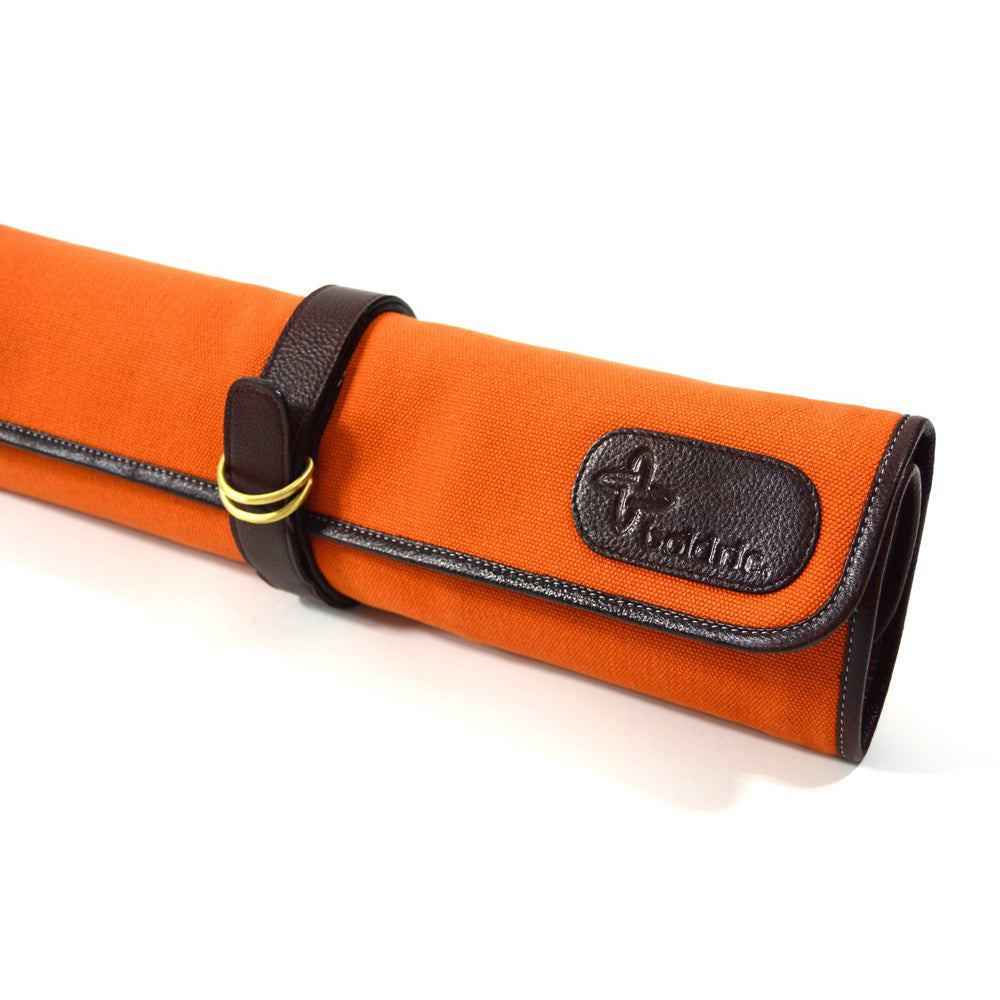 Boldric Canvas 7 Slot Tie Knife Bag, Orange