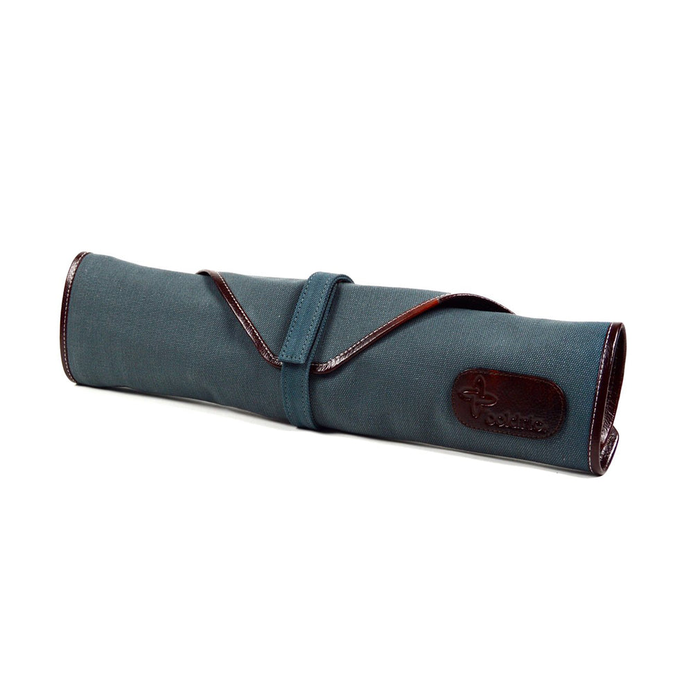 Boldric Canvas 6 Slot Knife Bag, Abalone