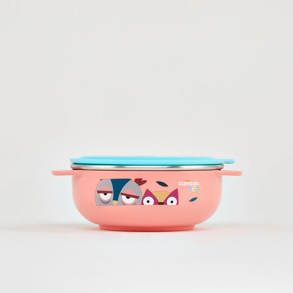 Cuitisan Infant Feeding Bowl 400ml Pink