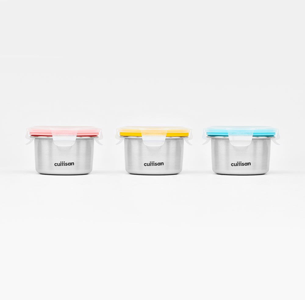 Cuitisan Infant Feeding Container 200ml 3pc Set