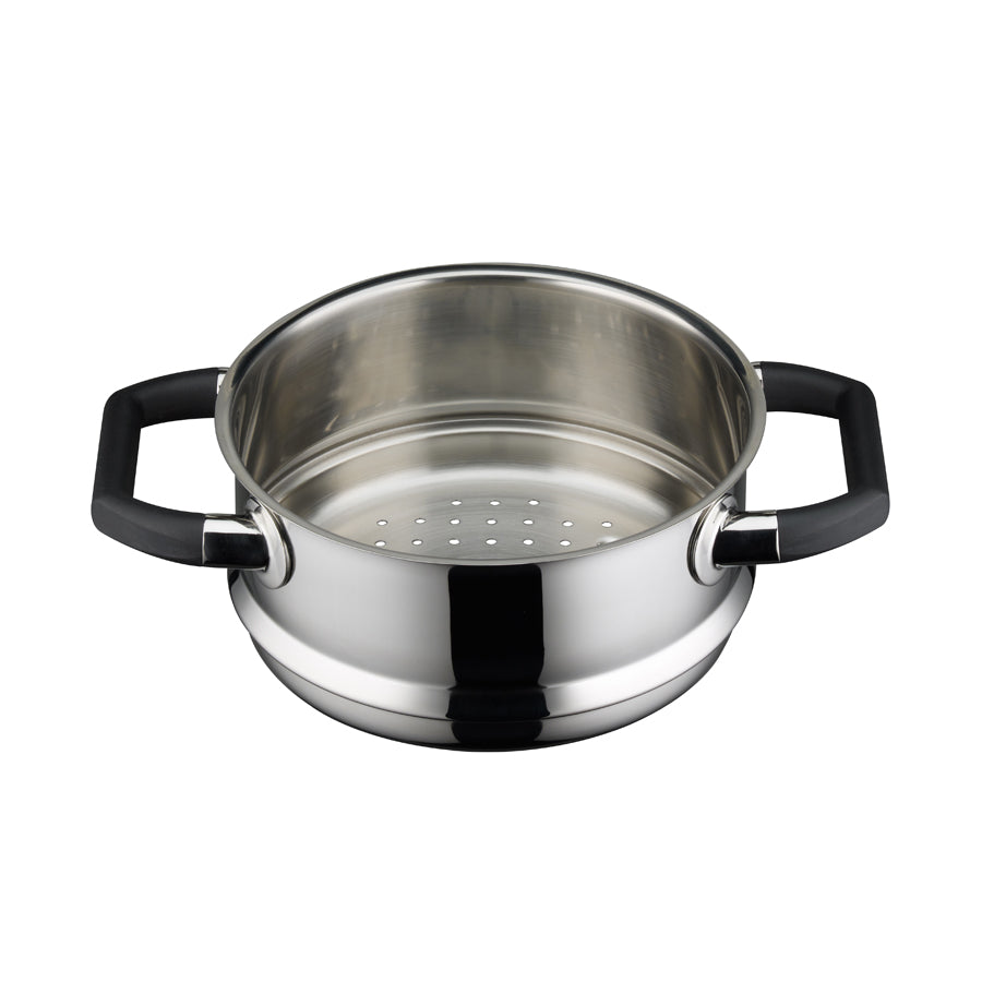 "Elo ""Black Pearl"" Insert for Steaming & Stewing  20cm"