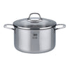 "Elo ""Silicano+"" Casserole High w/Glass Lid  24cm"