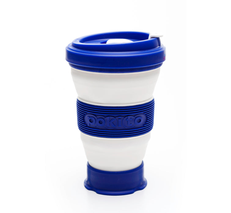 Evo Eco-Friendly Collapsible Cup Blueberry (Single)