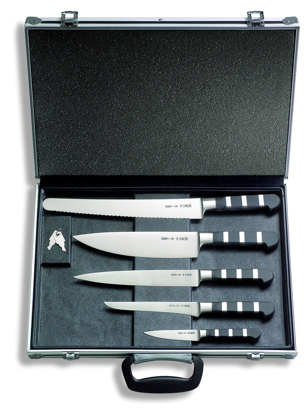 F.Dick 1905 Series Chef's Set Magnetic Case, 5pc