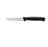 F.Dick Pro Dynamic Kitchen Knife, PointedTip SerratedEdge, 11cm Black, B/P