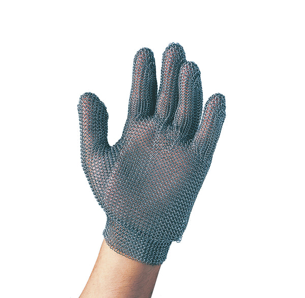 F.Dick Metal Mesh Gloves, Size 1, 5 Fingers, Left/Right