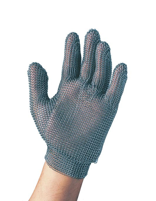F.Dick Metal Mesh Gloves, Size 3, 5 Fingers, Left/Right