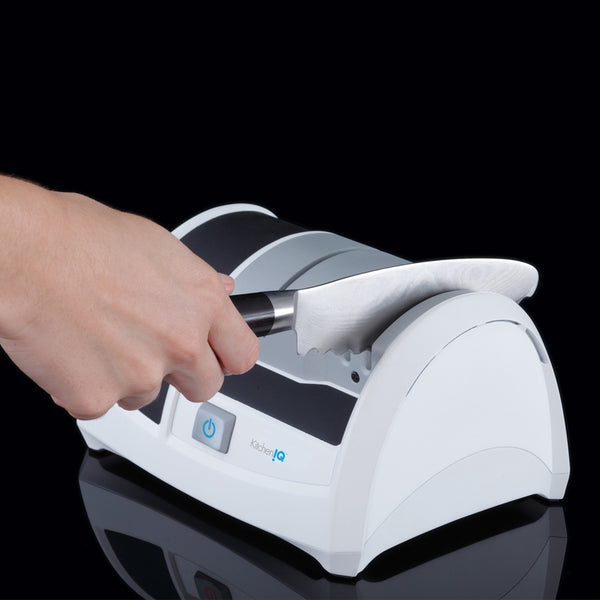 KitchenIQ Ceramic Edge Knife Sharpener - Electric