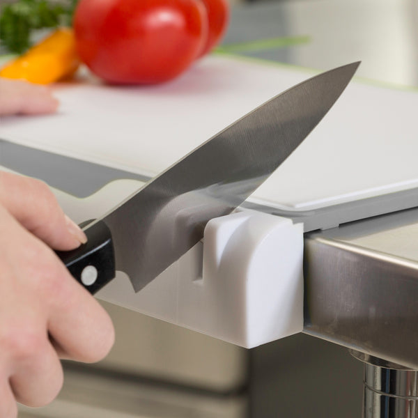 KitchenIQ EdgeBoard 2-in-1 Cutting Board & Knife Sharpener