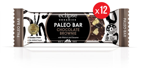 Eclipse Organic Paleo Bar Chocolate Brownie 12x45g