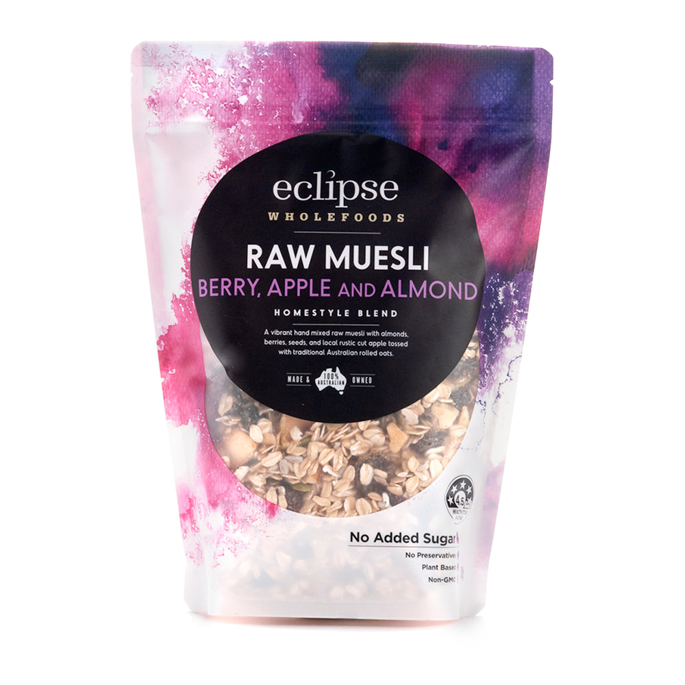 Eclipse Wholefoods Muesli Raw Berry & Almond 500g