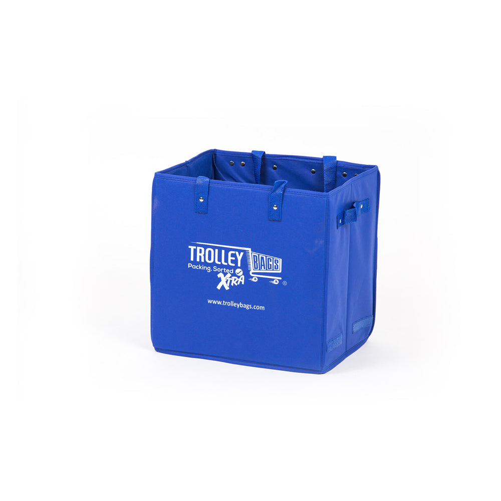 Evo Trolley Reusable Collapsible Shopping Bag Blue (Single)