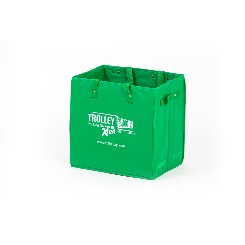 Evo Trolley Reusable Collapsible Bag Green (Single)