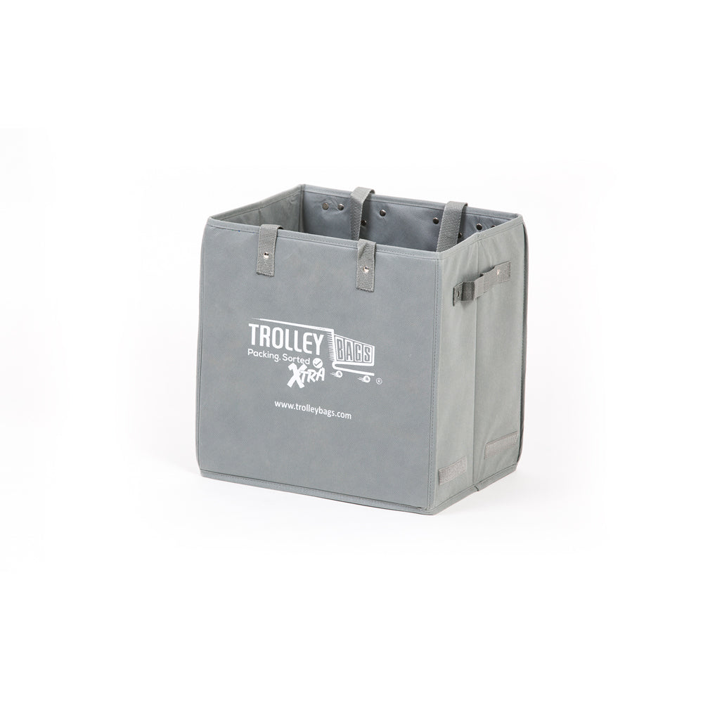 Evo Trolley Reusable Collapsible Bag Grey (Single)