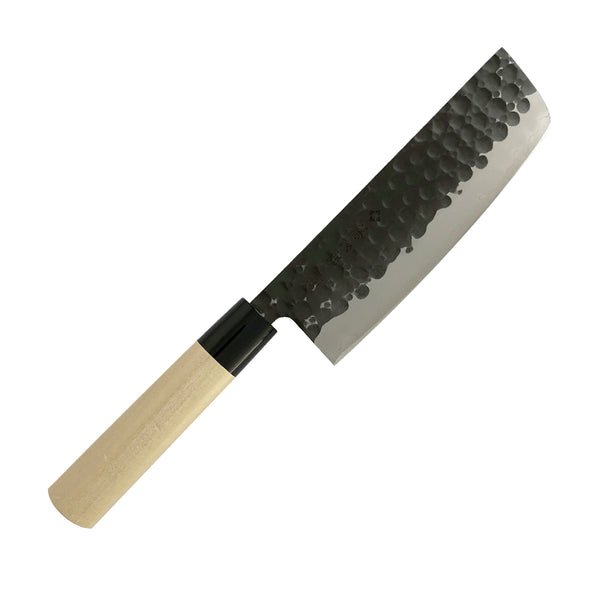 Tojiro DP Hammered 3-Layers Nakiri Chopper, 165mm