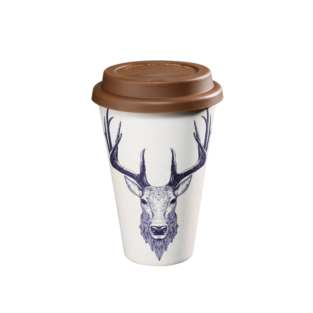 "Zassenhaus ""Deer"" Coffee to go Mug"
