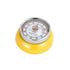 "Zassenhaus ""Speed"" KitchenTimer w/MagnetEnameledSteelYellow 3x 7cm"