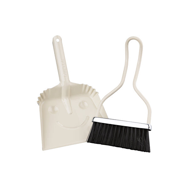 Zassenhaus SmileyMini Dustpan Set Off-White 21x14cm