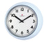 "Zassenhaus ""Retro Pastell"" Wall Clock Light Blue  24x6cm"