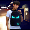 Anime Luminous School Bag Backpack with USB Charger Port Safety Lock