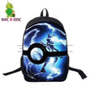 Pokemon Anime Laptop Backpack School Waterproof