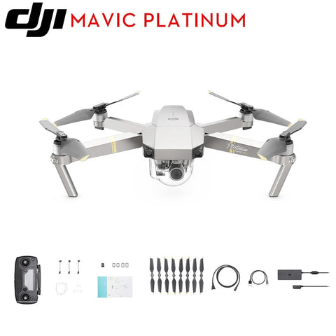 DJI Mavic Pro/Mavic Pro Combo Platinum FPV Drone with 4K video 1080p camera RC Helicopter Flight time 30 MINS 100% New Open-box