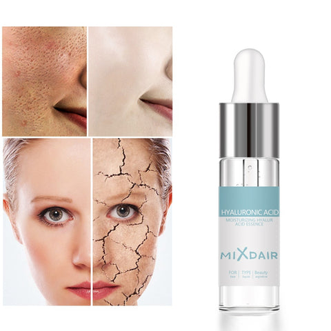 Hyaluronic Acid Hydrating Serum Deeply Moisturizing Firming Skin Control Oil Pores Shrink Skin Care Essence
