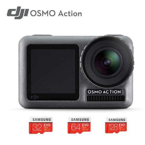 DJI Osmo Action camera  Professional Sport Camera 4K HDR Video Waterproof DJI stabilized handheld  Dual Screens camera  IN STOCK
