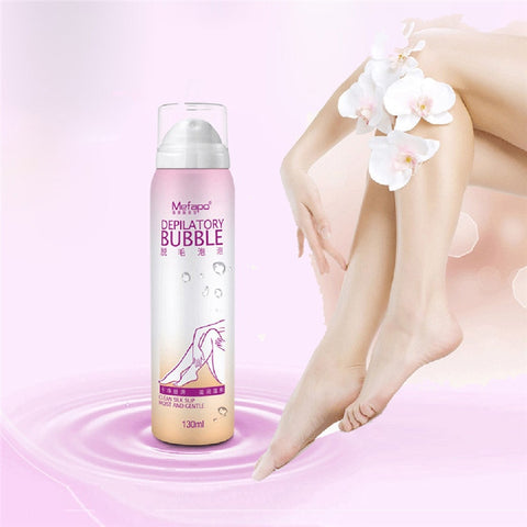 Anti allergic Mousse Spray Foam Mousse Creams Depilatories For Both Women And Men maquiagem hair removal cream