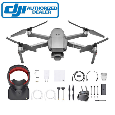 DJI Mavic 2 Zoom Drone 12MP 4K Fly More Combo Kit Goggles RE AUS 1 Year Warranty