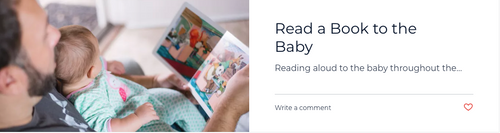 Read To The Baby