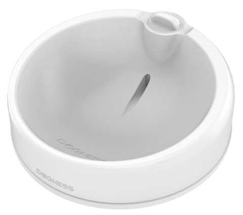Dogness Travel Bowl Due (White)