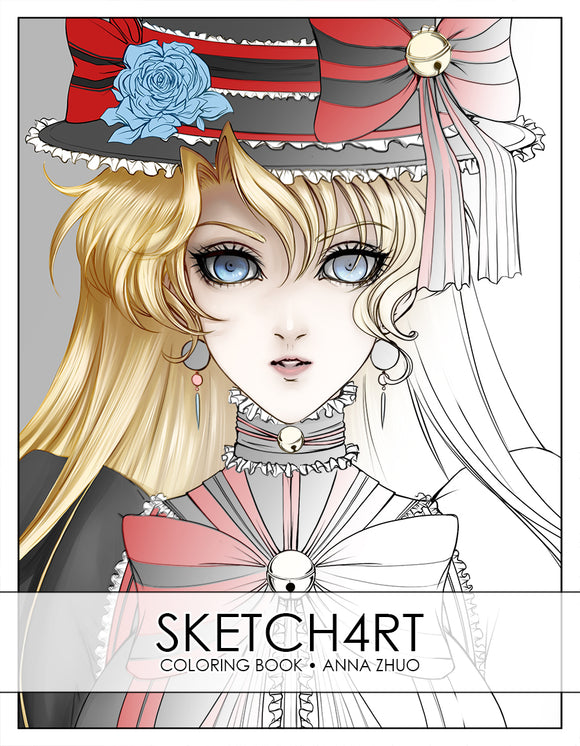 SKETCH4RT Coloring Book