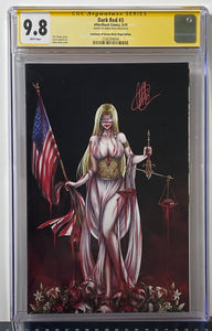 CGC 9.8 SS Dark Red #3 (Black)
