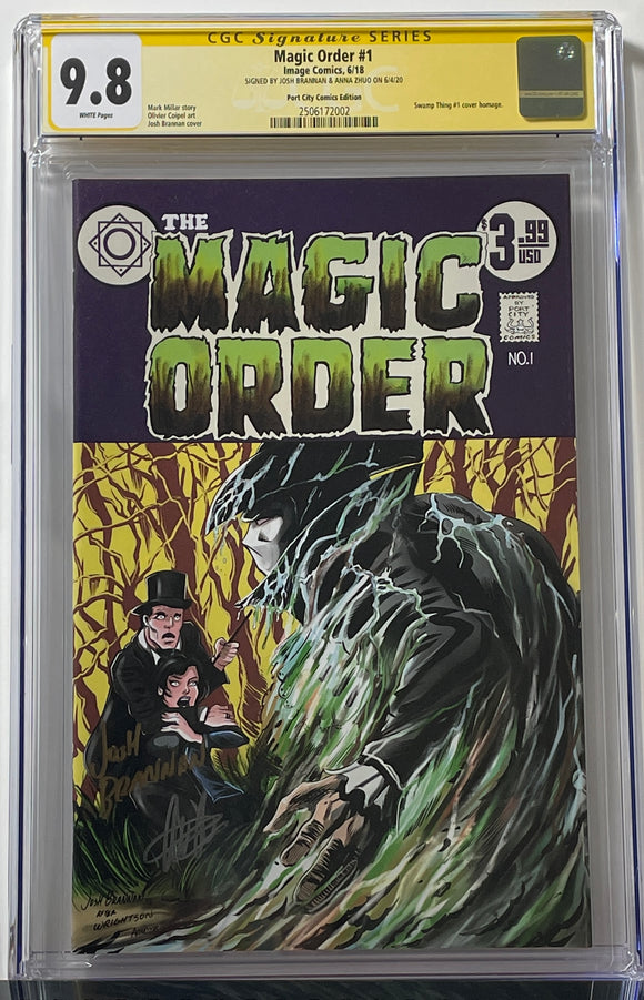 CGC 9.8 SS Magic Order #1 2x Signed