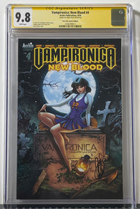 CGC 9.8 SS Vampironica: New Blood #4 (Trade Dress)