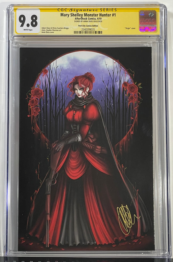 CGC 9.8 SS Mary Shelley: Monster Hunter #1