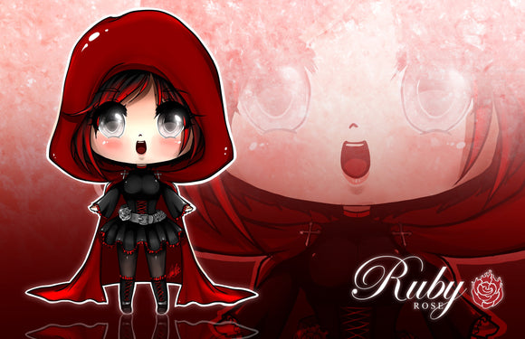 CHIBI RWBY: Ruby Rose