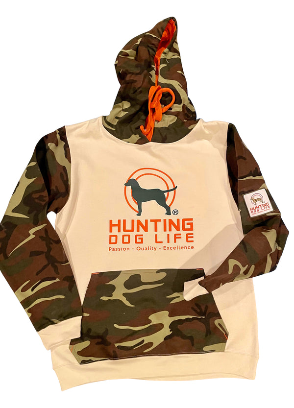Limited Edition Men's Camo Hooded Sweatshirt