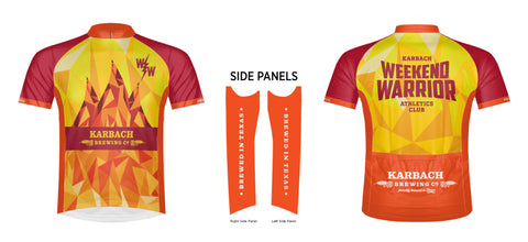 2018 Weekend Warrior HHH Cycling Jersey