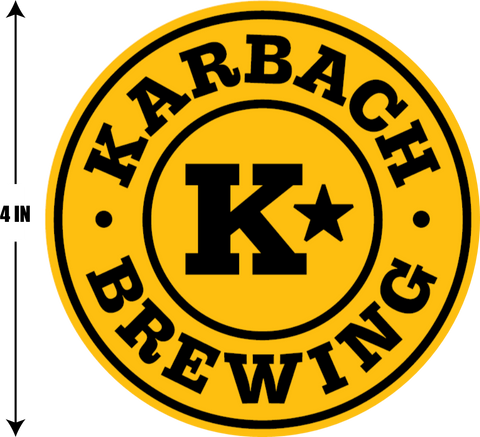 Karbach Badge Sticker