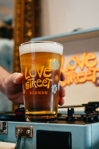 Love Street Pint Glass