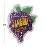 Sagria Radler Sticker