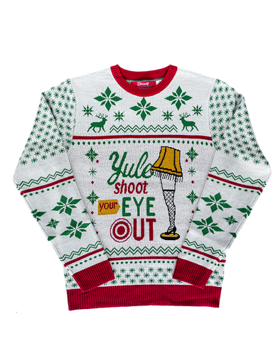 Yule Shoot Your Eye Out Sweater