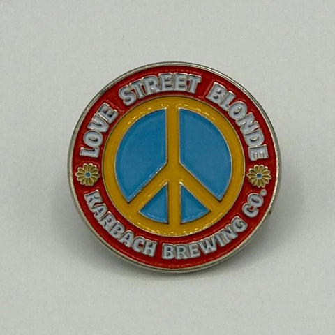 Love Street Enamel Pin
